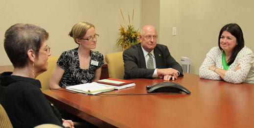 news teleconference with Chancellor-designate Gary L. Miller