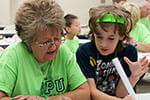 Picture this: Generations learn together during Grandparents' U at UW-Green Bay