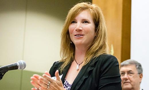 Anita Resch, President, UW-Green Bay Founders Association