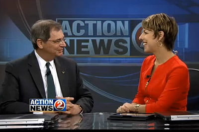 WBAY, Channel 2 interview with Chancellor Miller