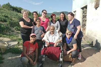 Helping hand: Nursing, Women's Studies students serve Roma in Slovakia