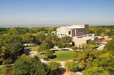 UW-Green Bay campus, fall gallery