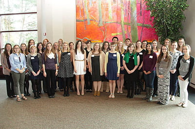 Founders Association Scholarship Reception