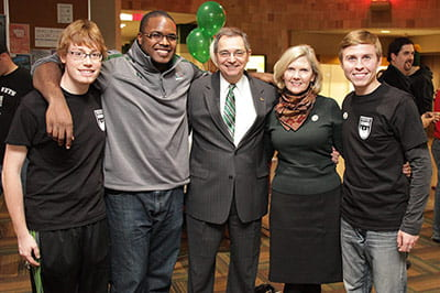 Students meet the Chancellor event