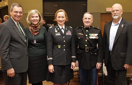Chancellor's Veteran Reception