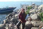 2012 grad Morgan Gantz works to study and protect our nation's wilderness