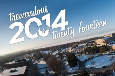 Tremendous 2014 at UW-Green Bay