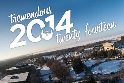 Tremendous 2014 at UW-Green Bay