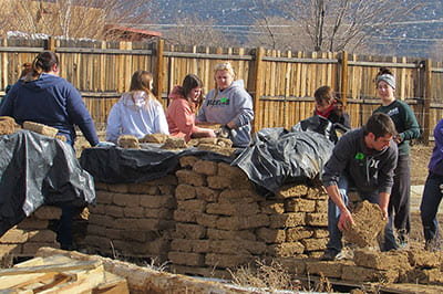 Habitat for Humanity trip to Taos