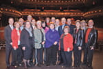 Alumni grab center stage with generosity