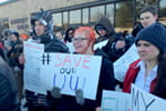 Photos: Students, grads voice opposition to cuts