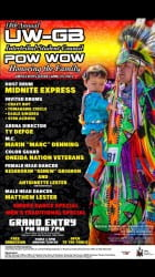 2015 UW-Green Bay Pow Wow Flier