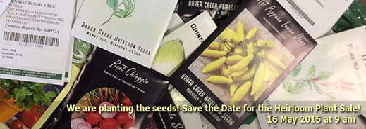 UW-Green Bay heirloom plant sale