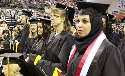 commencement graduate iraq