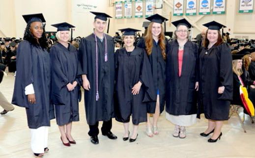 Nursing masters graduates