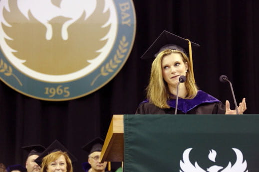 julie van straten commencement speaker