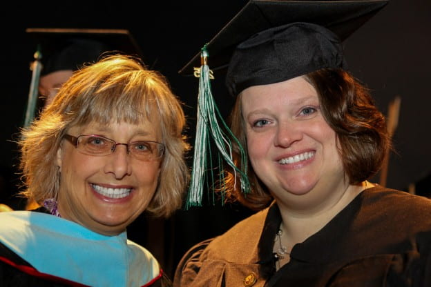 Nursing Prof. Susan Gallagher-Lepak and Teresa Talmadge