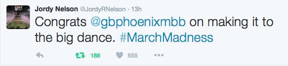 Jordy Nelson tweet