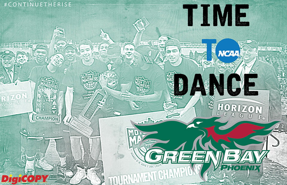 Phoenix Men's Basketball Time to Dance Poster