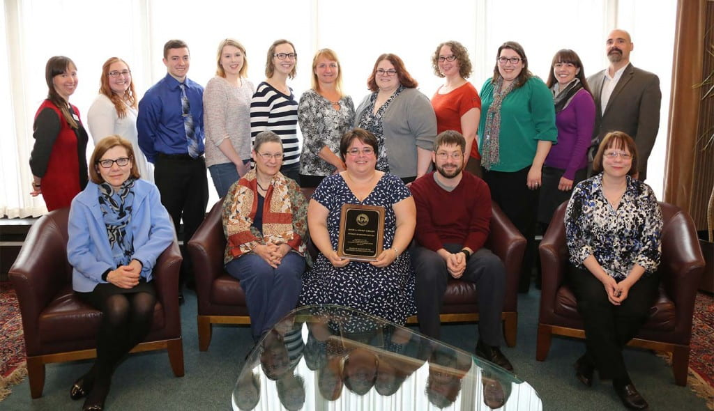 Library Honored by Regents
