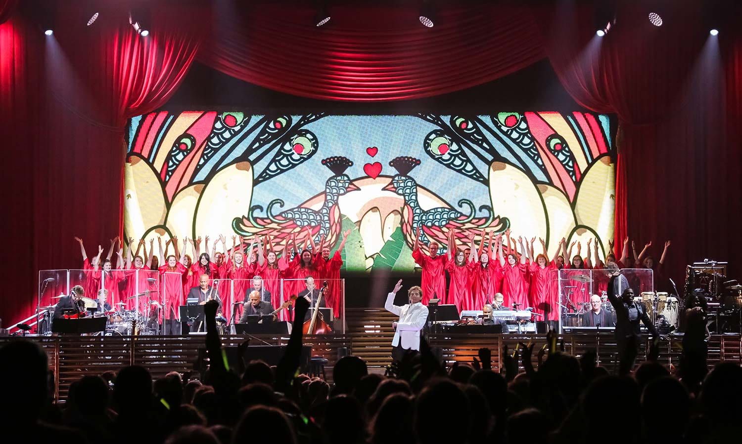 Manilow with Chorale