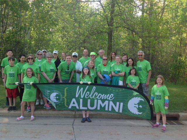 UWGB Alumni Cellcom Marathon Volunteers