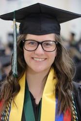 Pamela Parish, Outstanding Student