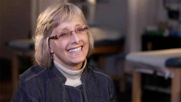 Video screenshot of Susan Gallagher-Lepak