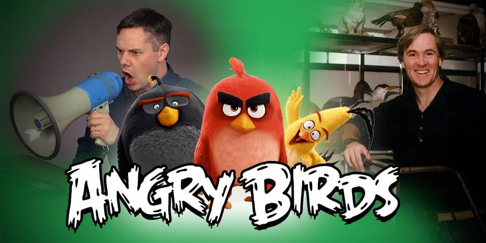 Ryan Martin, Bob How, and Angry Birds