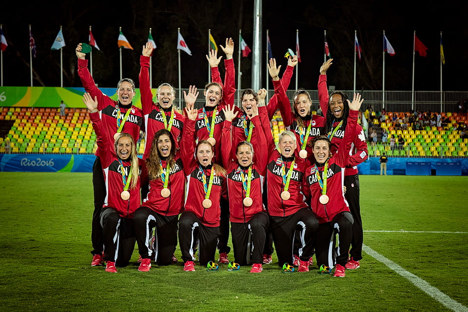 Canadian Rugby Olympic Medalists