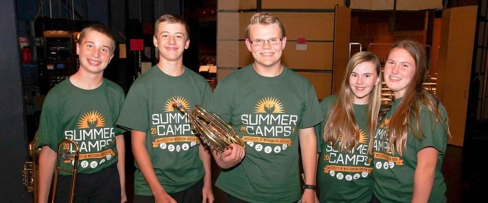 UW-Green Bay Summer Camps 2016