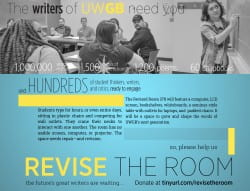 """""""Revise the Room"""" fundraiser promotional piece"""