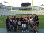 UWGB Jump Start multicultural students tour Lambeau Field