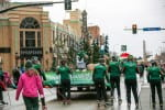 UWGB Float in the Holiday Parade
