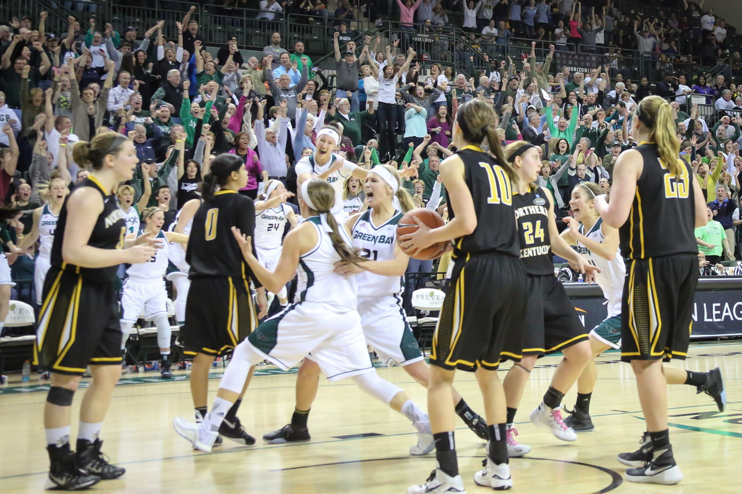 1 - Jubilation at Women's Basketball