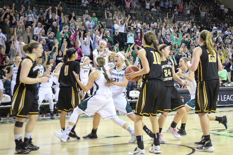 1 - Jubilation at Women's Basketball