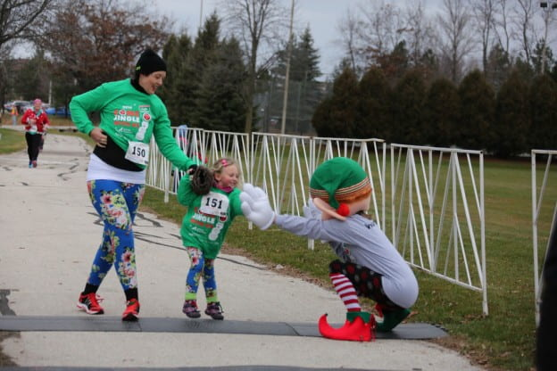 Jingle bell run walk 2016