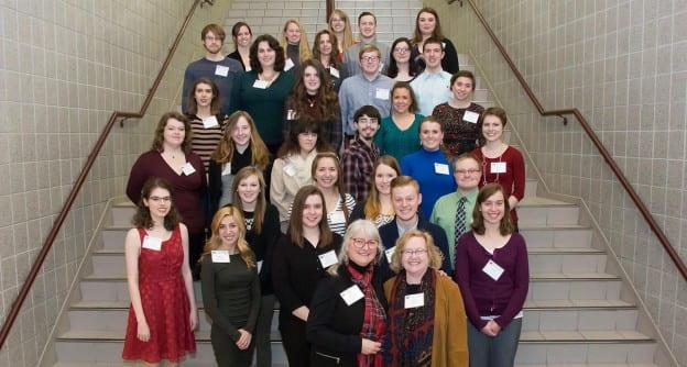 Marcia Mueller Scholarship Reception
