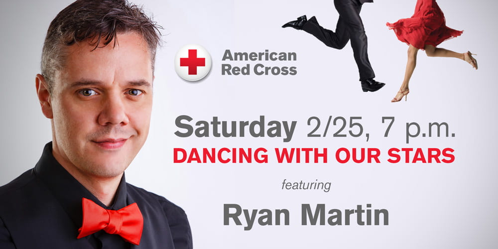 Ryan Martin Dancing with our Stars Saturday Feb. 25
