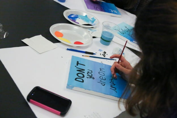 student-painting