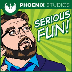 Serious Fun Podcast Art