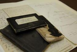 James S. Anderson's civil war diaries ca.1861-64.