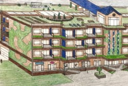 housing drawing