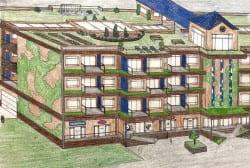 housing drawing