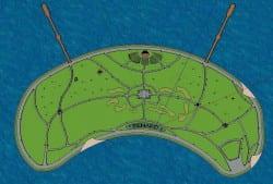 Renard Island detail