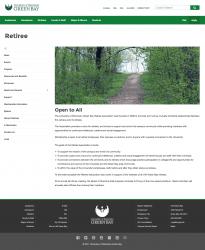 Retiree Site Redesign