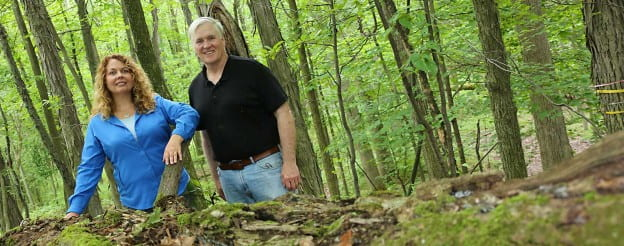 Professsors Amy Wolf and Bob Howe