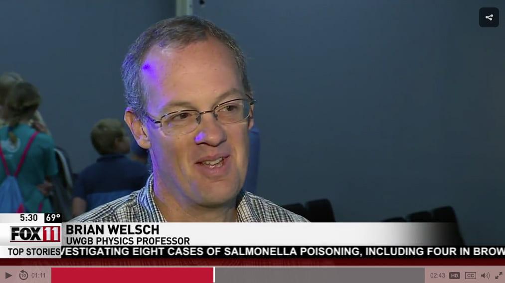 Brian Welsch Fox 11 interview