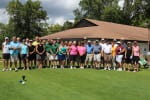 2017 Retirees Golf Outing Group Photo