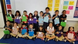 1st graders, Oleson Elementary School in Houston, Texas